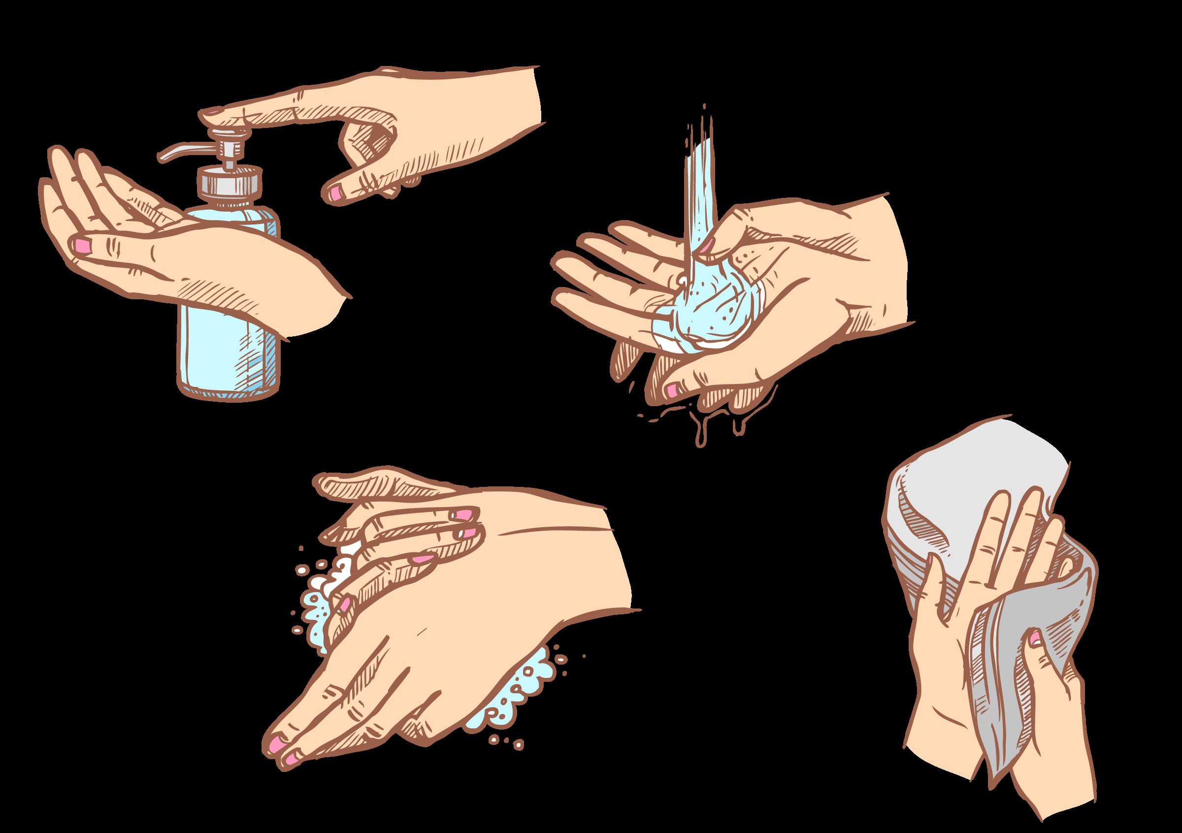 Kleiner Unterschied: Händewaschen rettet Leben